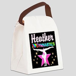 SPARKLING GYMNAST Canvas Lunch Bag