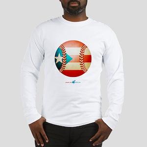 PR Beisbol / Baseball Long Sleeve T-Shirt
