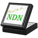 Proud to be NDN Keepsake Box
