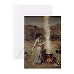 Magic Circle by Waterhou Greeting Cards (Pk of 20)
