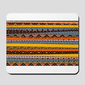 African Pattern Mix Mousepad