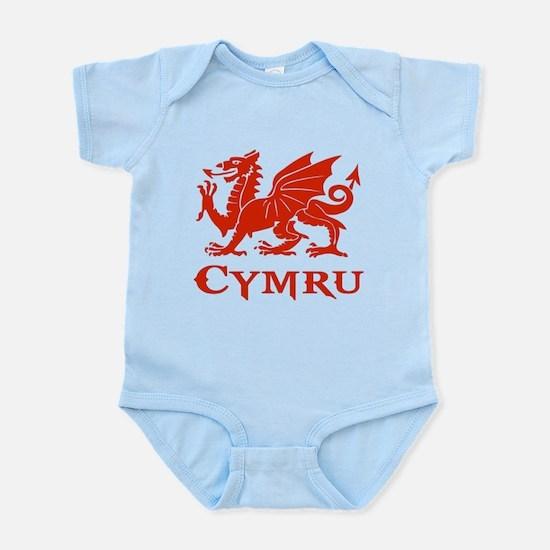 cymru wales welsh cardiff dragon Body Suit
