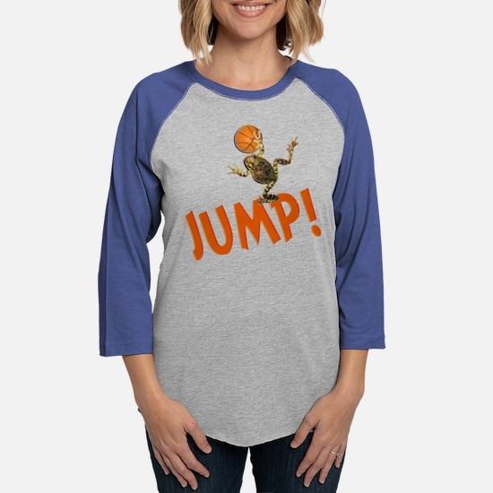 Basketball Jump Frog Long Sleeve T-Shirt