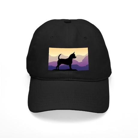 Chihuahua Purple Mountains Black Cap