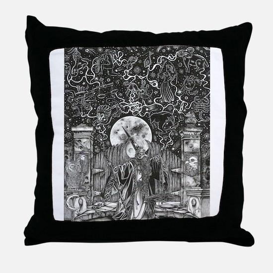 Wizard Signs Throw Pillow