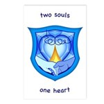 2 Souls 1 Heart Postcards (Package of 8)
