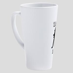 Thick Thighs 17 oz Latte Mug