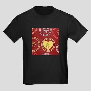 Cute Sweet Heart Kids Dark T-Shirt