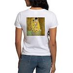The Kiss by Gustav Klimt Women's T-Shirt