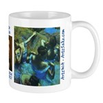 Blue Dancers by Degas Mug