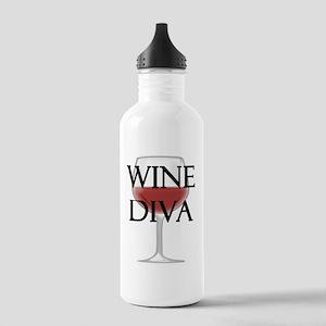 Wine Diva Stainless Water Bottle 1.0L