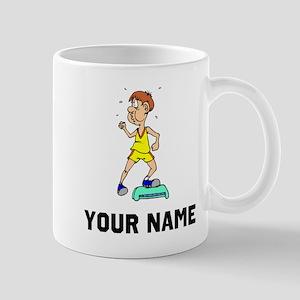 Step Aerobics Mugs