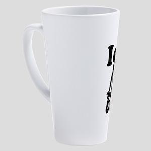 I Love BBW 17 oz Latte Mug