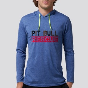 Pit Bull Rescue Long Sleeve T-Shirt