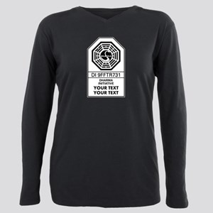 Custom Dharma Label Plus Size Long Sleeve Tee