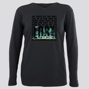 Lost Stuff 2 Plus Size Long Sleeve Tee