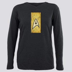 Vintage Star Trek Command Plus Size Long Sleeve Te
