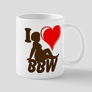 I Love BBW Mugs