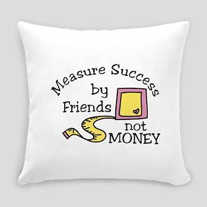 Measure Success Everyday Pillow