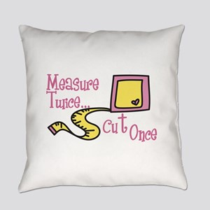 Cut Once Everyday Pillow