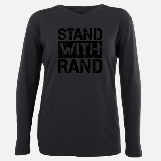 Stand With Rand Plus Size Long Sleeve Tee