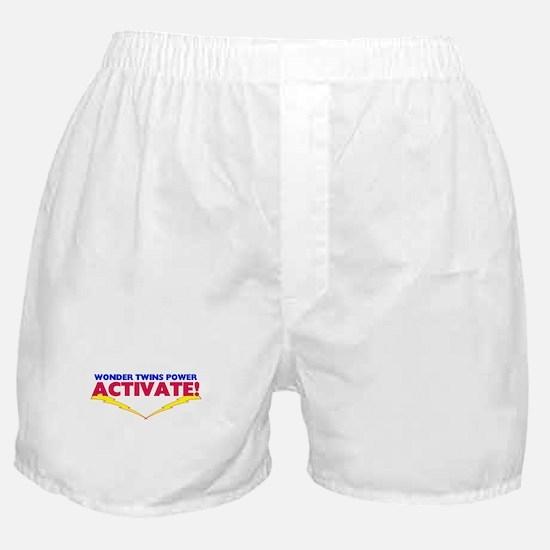 Wonder Twins Boxer Shorts