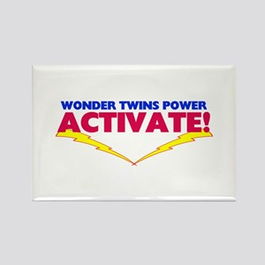 Wonder Twins Rectangle Magnet