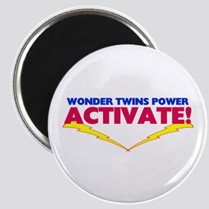 Wonder Twins Magnet