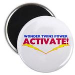 Wonder Twins Magnet