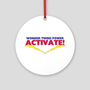 Wonder Twins Ornament (Round)