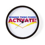 Wonder Twins Wall Clock