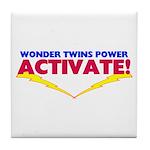 Wonder Twins Tile Coaster