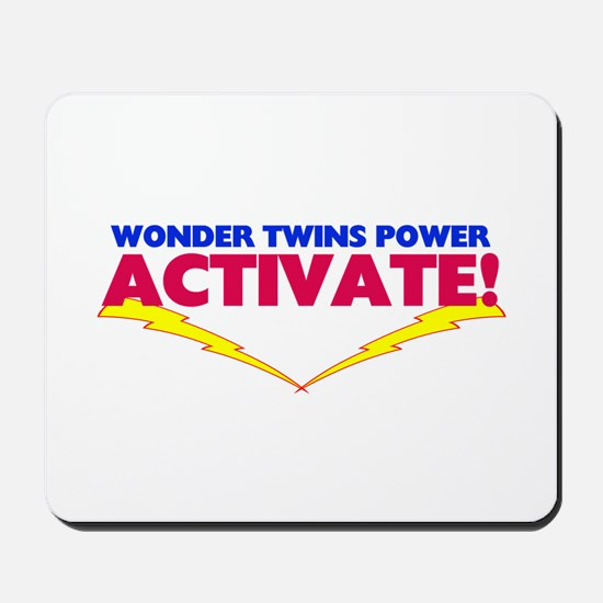 Wonder Twins Mousepad