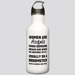 Women Are Angels... Stainless Water Bottle 1.0L