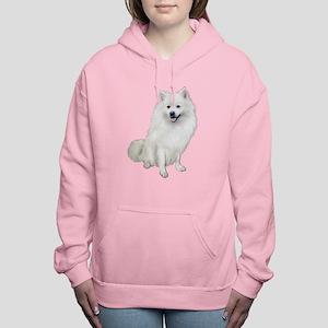 American Eskimo Dog #1 Women's Hooded Sweatshirt