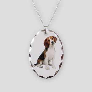 Beagle #1 Necklace Oval Charm