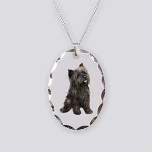 Cairn (brindle24) Necklace Oval Charm