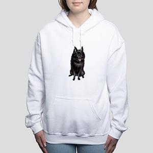 Schipperke Women's Hooded Sweatshirt