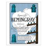 Specify Hemingray Small Poster