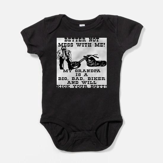 Cool Kids motorcycle Baby Bodysuit