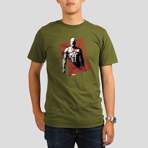 Daredevil Bars Organic Men's T-Shirt (dark)