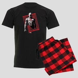 Daredevil Bars Men's Dark Pajamas