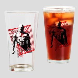 Daredevil Bars Drinking Glass
