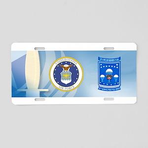 15th Aerial Port Squadron Aluminum License Plate