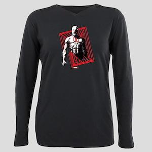 Daredevil Bars Plus Size Long Sleeve Tee