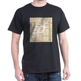 Afghanistan Map T-Shirt