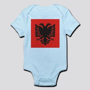 Albanian Flag Body Suit