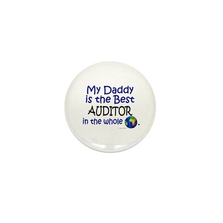 Best Auditor In The World (Daddy) Mini Button (100