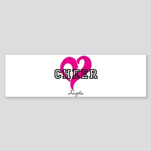 Love Cheer Heart Bumper Sticker