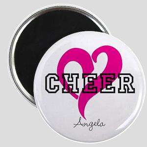 Love Cheer Heart Magnets